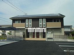 ブランシュ富田 A棟[1階]の外観