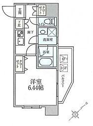 ウイングコート横浜[604号室号室]の間取り