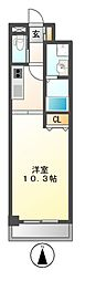 ドゥナーレ畑江通[8階]の間取り