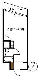 グレイス旭園[505号室]の間取り