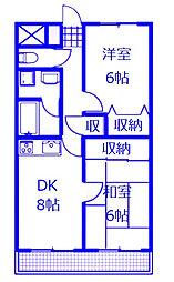 Chateau Life Sagamihara III(シャトーライフサガミ)[403号室]の間取り
