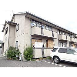 長野県東御市田中の賃貸アパートの外観