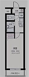 東京都豊島区駒込4丁目の賃貸マンションの間取り