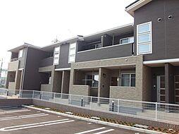 愛知県岡崎市錦町の賃貸アパートの外観