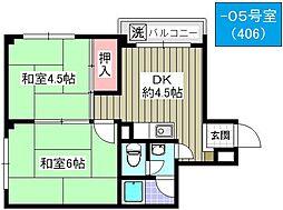 サントピア千島[505号室]の間取り