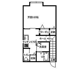 スウィート樋ノ沖[203号室]の間取り