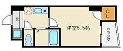 オーキッドコート玉造[2階]の間取り