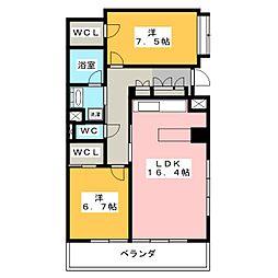 プライムメゾン御器所[9階]の間取り