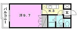 プランドール・カネキA棟[202 号室号室]の間取り
