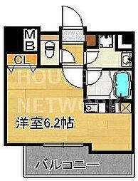 ALTA京都堀川WINDOOR[801号室号室]の間取り