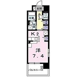グランデ新宿[501号室]の間取り