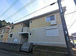 千葉県匝瑳市飯倉台の賃貸アパートの外観