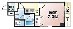 インペリアル篠原[2階]の間取り