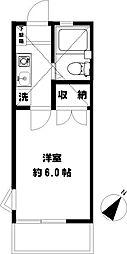 辻堂ニューエスタ21[201号室]の間取り