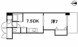 ミッションデルタ[305号室]の間取り