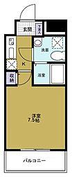 BASE NAMIYOKE[7階]の間取り