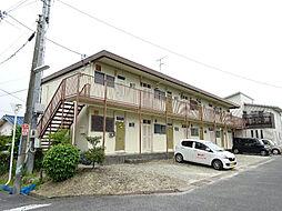 大阪府富田林市久野喜台1丁目の賃貸アパートの外観