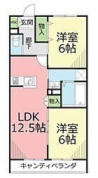仮)土棚メゾン[3階]の間取り