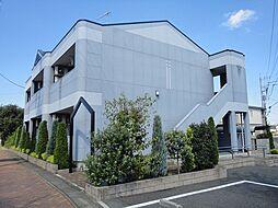 埼玉県比企郡嵐山町むさし台1丁目の賃貸アパートの外観