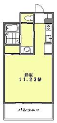 フェルト627[6階]の間取り