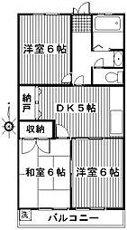 高関コーポ[305号室号室]の間取り