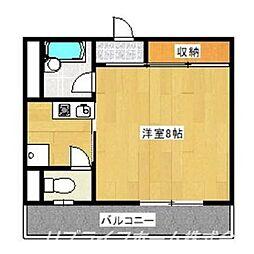 MMハイツ[4階]の間取り