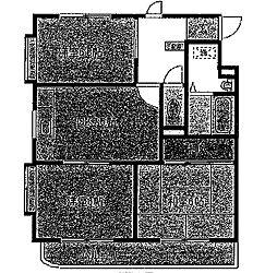 メゾンエクセル[2階]の間取り