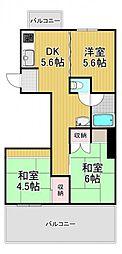 Welina626[5階]の間取り