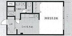 神奈川県伊勢原市伊勢原1丁目の賃貸マンションの間取り