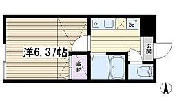 レジデンス田端新町[203号室]の間取り