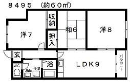 高鷲駅 5.5万円