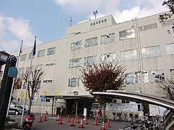 東淀川区役所:200m