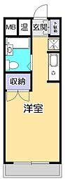 アメニティ92[4階]の間取り