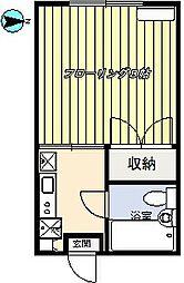 第8雲南コーポ[203号室]の間取り