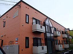 北海道札幌市南区澄川二条3丁目の賃貸アパートの外観