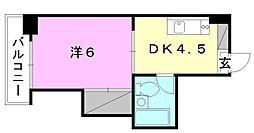 ジョイア壱番館[106 号室号室]の間取り