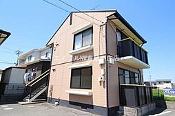 岡山県倉敷市粒江の賃貸アパートの外観