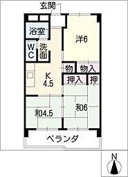 MTTビル[4階]の間取り