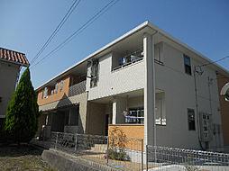 愛媛県松山市吉藤4丁目の賃貸アパートの外観