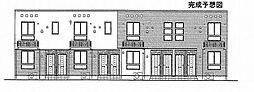 トライブC[203号室]の外観