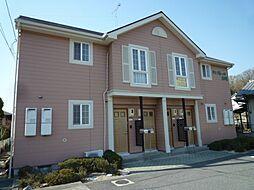 岡山県倉敷市下津井2丁目の賃貸アパートの外観