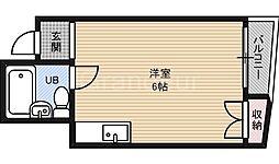 コンフォート今津[3階]の間取り