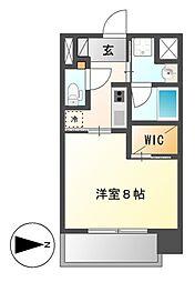 セレステーション[8階]の間取り