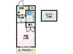 プラザ210YANOKUCHI[3階]の間取り
