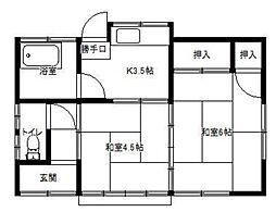 [一戸建] 埼玉県さいたま市桜区栄和2丁目 の賃貸【/】の間取り