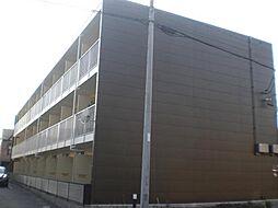 レオパレスフィレンツェ七番[3階]の外観