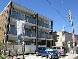 埼玉県越谷市大沢4丁目の賃貸マンションの外観