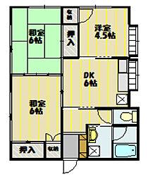 [一戸建] 長野県飯田市大瀬木 の賃貸【長野県 / 飯田市】の間取り