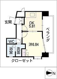 ケイズマンション泉[11階]の間取り