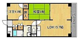 ルークレジデンス姫路2[304号室]の間取り